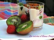 Tiramisu fraises kiwis spéculoos