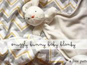 couverture doudou lapin pour bébé