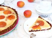 Tarte cheesecake ricotta abricots