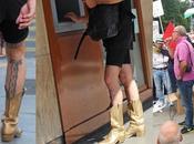 photo jour: quand hommes s'habillent femme!