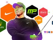 Quelles sont sociétés sponsorisent plus grands athlètes
