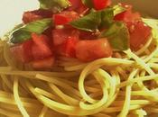 Spaghettis tomates crues