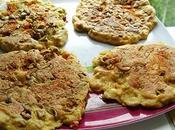 Galettes tofu olives vertes