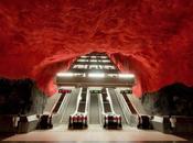 plus belles stations métro trouvent Stockholm
