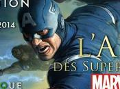 """Ostinato vadrouille Exposition """"L'art super-héros Marvel"""" Musée Arts Ludiques."""