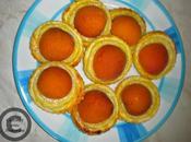 petits feuilletées abricots