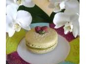 Frambistache: Gros Macarons Pistache Framboises
