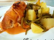 Roulés dinde Mascarpone/Bacon/Tomates séchées leur sauce tomatée