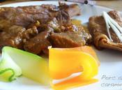 Porc caramel, cinq épices maison