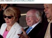 Michael Higgins, président irlandais visite Festival interceltique Lorient, impressions diverses subjectives.