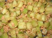 Salade concombre saumon saveur asiatique