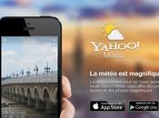 Yahoo Météo iPhone, peut être notif' vont fonctionner avec cette