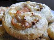 Palmiers jambon-fromage moutarde l'ancienne