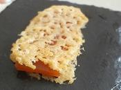 Sandwich croustillant parmesan pâte coing