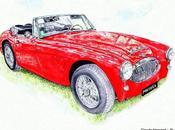Austin healey 3000 1964