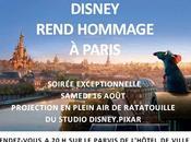 manquer samedi août Paris Plage, projection exceptionnelle RATATOUILLE