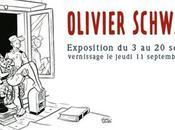 Expo Olivier Schwartz chez Daniel Maghen septembre 2014