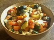sauté légumes végétarien