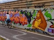 L'été canal, balade vélo street long canal l'Ourcq (Bondy Paris