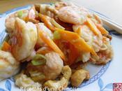 Crevettes noix cajou 腰果虾仁 yāoguǒ xiārén