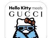 collaboration avec Hello Kitty pour Gucci dans Vogue