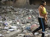 Gaza éventrée état lieux