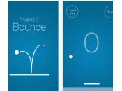 Make Bounce pong-like l'horizontale addictif