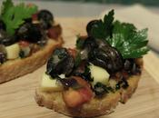 Bruschetta d'escargots fromage