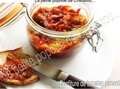 Confiture tomates pimentées