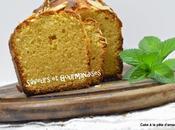 Cake Pâte d'Amandes Fleur d'Oranger.