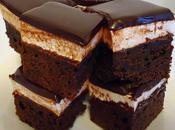 Carrés brownies extra gourmands guimauve