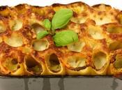 Paccheris farcis légumes soleil mozzarella