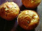 Muffins salé petit pois, surimi curry