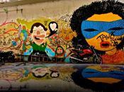 Brésil graffs cœur ouvert