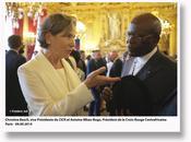 président Croix-Rouge Centrafricaine rend hommage volontaires