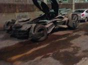 "Nouvelles photos batmobile ""Batman Superman: Dawn Justice"""