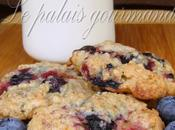 Biscuits bleuets avoine