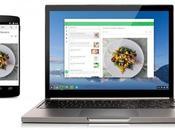 L'utilisation d'applications Andoid Chrome concrétise