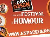 2ème édition festival d'humour l'Espace Gerson