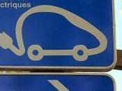 Véhicules électriques nouveaux points recharge Paris