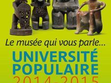 Découvrez programme l'Université Populaire Quai Branly