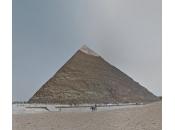 Découvrir visiter pyramides d'Égypte avec Google Street View