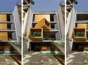 maison façade pivotante NextOffice, Téhéran, Iran Architecture