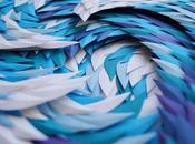 vagues l'océan paper artist Marine Coutroutsios