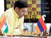 Echecs Anand vainqueur ronde avant