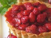 L'incomparable pâte Michalak tartes fraises bois
