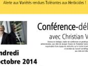 disent leur Conférence-débat avec Christian Vélot.La Rochelle octobre 20.30
