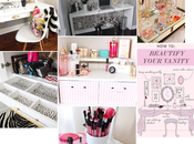 Inspirations rangement maquillage chambre