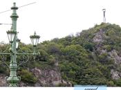 Budapest. Mont Gellért, quand s'agit grimper colline.