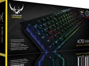 Corsair dévoile gamme claviers RGB, souris casques